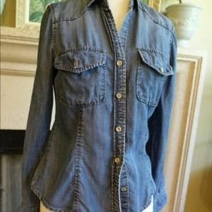 Bella Dahl Jean denim shirt